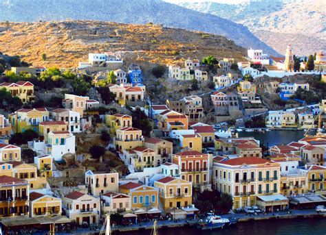 the complete rhodes around 0563537116 greece 200 steps in symi another bag more travel