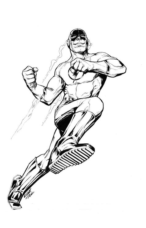 The Flash Superhero Coloring Pages Coloring Home Flash Coloring Pages