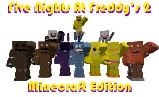 Map heal pony s five nights at freddy s 2 minecraft edition