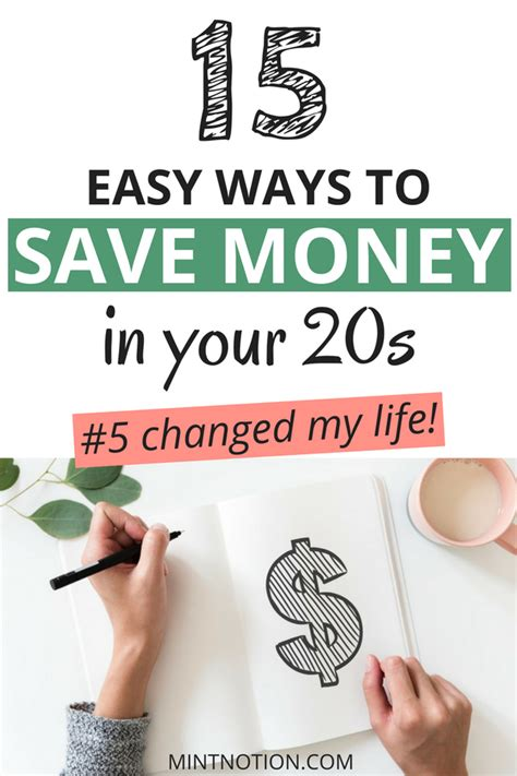 Easy Ways To Get Into Debt by 15 Easy Ways To Save Money In Your 20s Mint Notion
