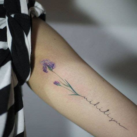 22 grandiose iris tattoo designs and meanings iris