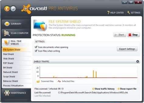 Antivirus Avast Pro avast pro antivirus 5 pcworld