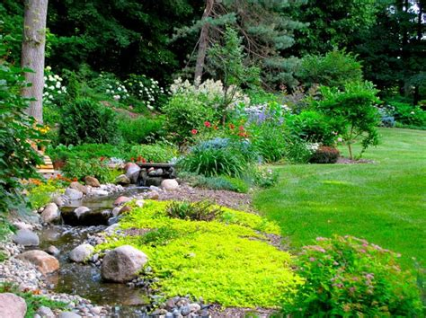 backyard stream backyard stream love it home garden pinterest
