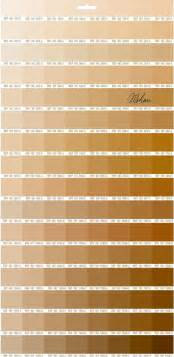 gold color number gold color chart images