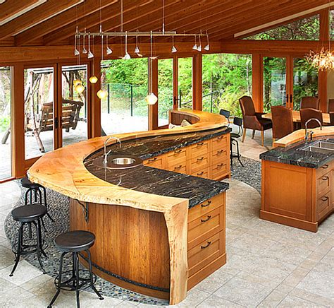 Kitchen Bar Top Ideas by 12 Unforgettable Kitchen Bar Designs