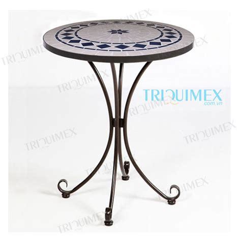 table patio ronde table bistrot ronde alinea ciabiz