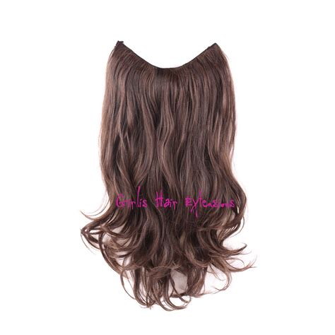 Hair Flip In girlis luxury hair extensions invisible wire hair extension weft remy 120 gram