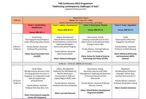 Nus Mba Mpp by Programmes Nus Executive Education Autos Post