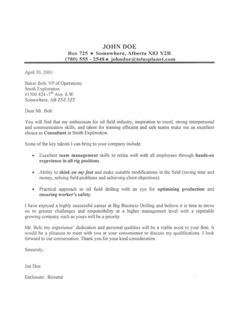 cover letter format attention cover letter templates