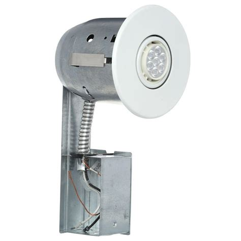 globe electric recessed lighting installation globe electric 4 in white recessed lighting kit with led
