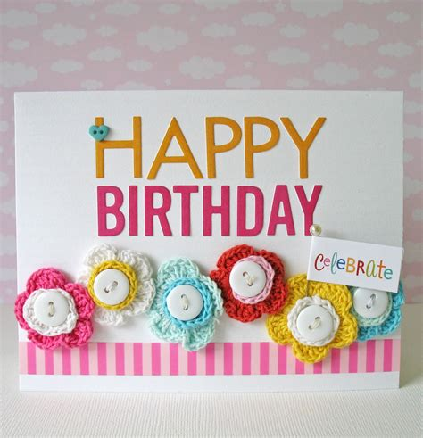 Happy Birthday Card Card Blanc By Kathy Martin Happy Birthday Giveaway