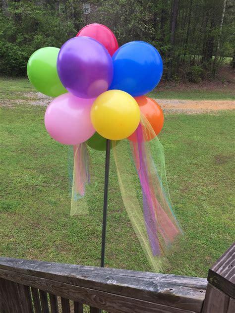 Balloon Topiary - balloon topiary diy life in the green house