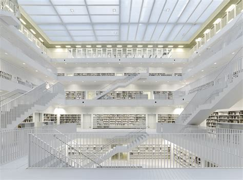 stuttgart library stuttgart city library yi architects archdaily