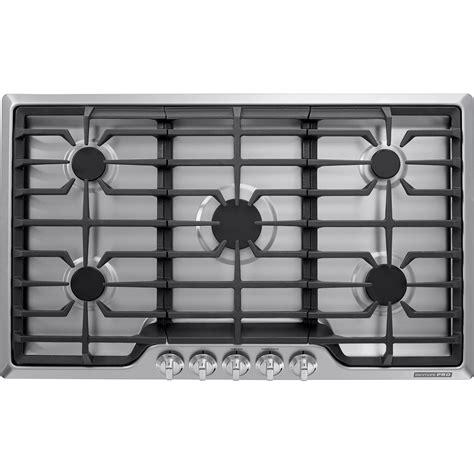 kenmore pro 34423 34423 36 quot gas drop in cooktop