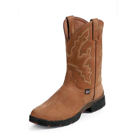 george strait boots s 11 quot justin 174 george strait westerner boots 161722