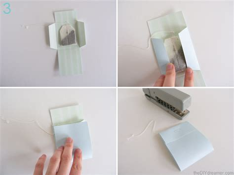 tea bag wrappers tutorial the d i y dreamer