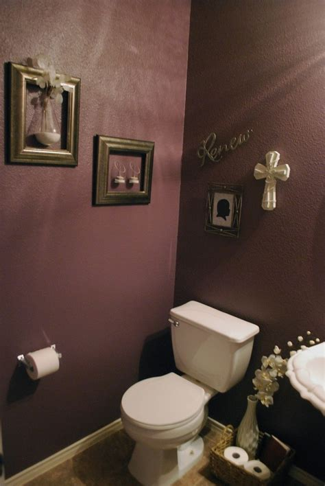 plum colored bathrooms pin by cindi nestor ferdinand on home alone