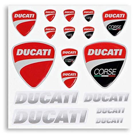 Ducati Aufkleber Logo by Ducati Company 981004504 Logo Decal Kit Motorcycle Store
