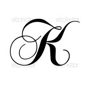letter k tattoo designs