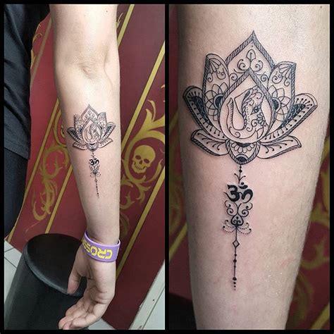 tattoo mandala personalizada renetattoo flor de lotus personalizada by renetattoo