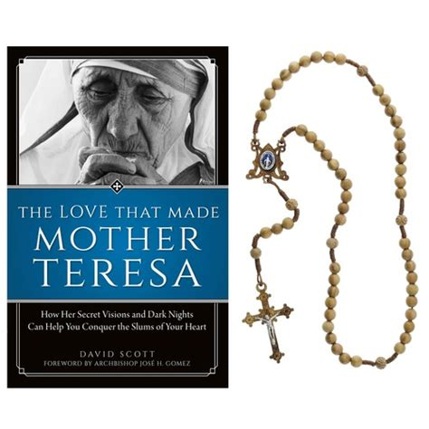 mother teresa biography book summary mother teresa book and rosary gift set the catholic company