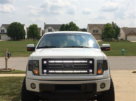 2005 f150 light bar dual 40 quot light bars behind grille ford f150 forum