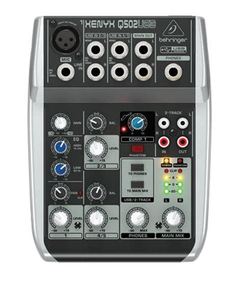 Behringer Xenyx Q502usb behringer xenyx q502usb usb audio mixer mezclador nuevo maa 3 243 01 en mercado libre