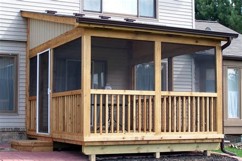 Screen Porch Enclosures Southeastern Michigan Screened Porches Enclosures Sheds