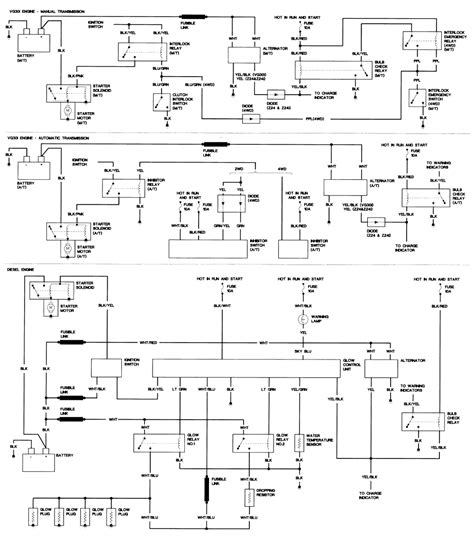 1987 nissan d21 vacuum line diagram 1987 free engine