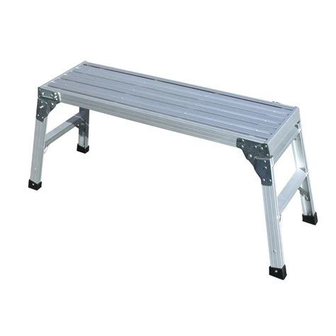 step benches tricam ladder wp20 b commercial duty aluminum work
