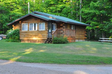 Manistique Lake Cabins by Cabin 4 Sleepy Eyed Goose Cabin