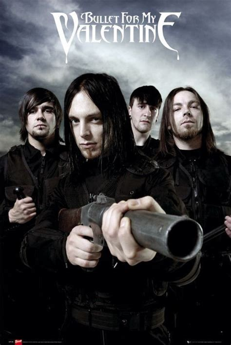 For My by Bullet For My Guns Poster Sold At Europosters