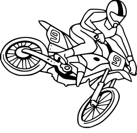 Coloriage Moto Cross Dessin 224 Imprimer Sur Coloriages Info