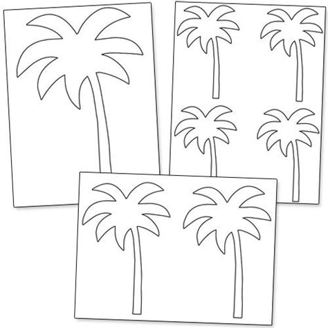 palm tree templates 1000 ideas about palm tree crafts on tree