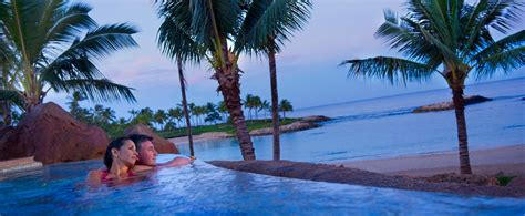 Beaches Couples Resorts Outdoor Whirlpool Spas Aulani Hawaii Resort Spa