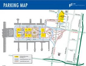 of parking map lax terminals airline and parking map for los angeles airport
