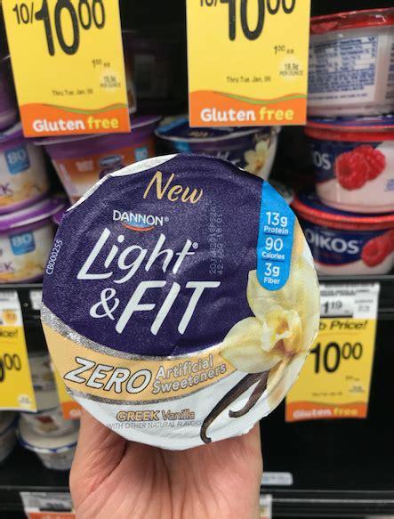 dannon light and fit zero get 2 free dannon light fit zero yogurts with