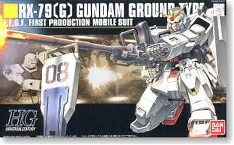 Hg Rx79 Ground Type Rx 79 G Gundam Ground Type Hguc Gundam Model Kits