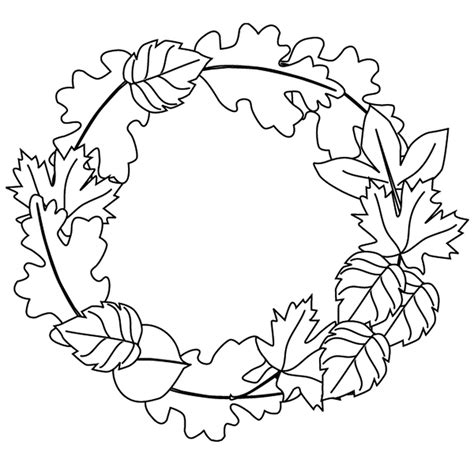fall coloring sheet free fall leaves coloring pages