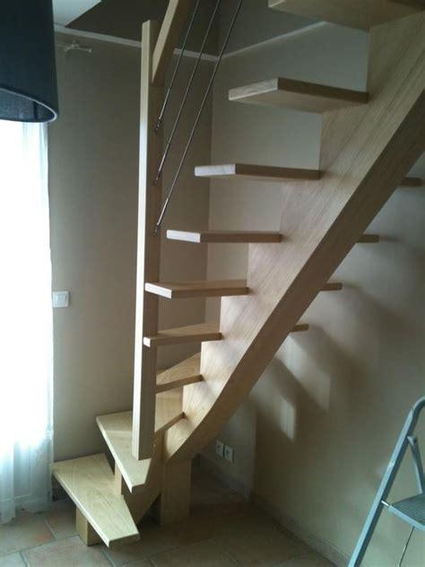 Escalier Quart Tournant Milieu 3286 by R 233 Alisations D Escalier En Bois Choisir Escalier Sur