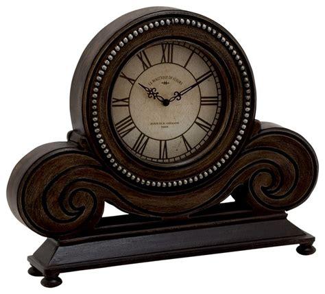 Wood Table Clock Modern Desk And Mantel Clocks By Modern Desk Clock