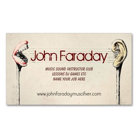 musical cards make your own 2150 best images about business card templates on