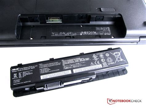 Asus Laptop Battery Check review asus n55sf s1124v notebook notebookcheck net reviews