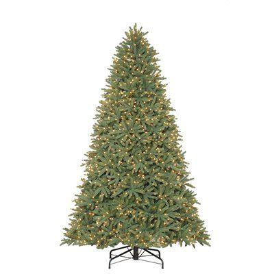 holiday living 9 ft pre lit mckenney fir artificial