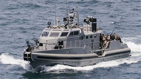 raptorboats test navy orders two mark vi patrol boats with on board