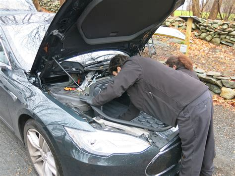 Tesla S Maintenance With Tesla Model S Electric Draw Slain At Last