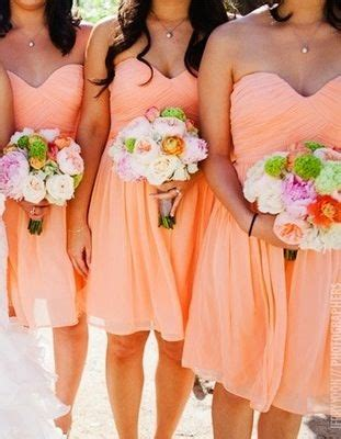 light orange bridesmaid dresses 25 best ideas about orange prom dresses on