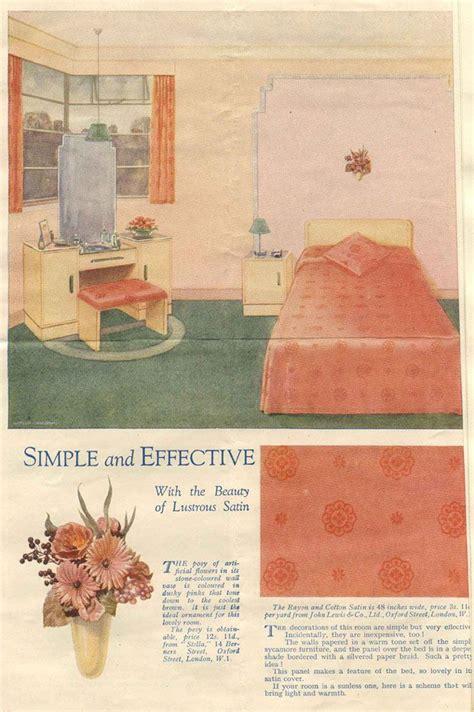 1930s bedroom decor 1930s bedroom home decor cooking 30 s pinterest