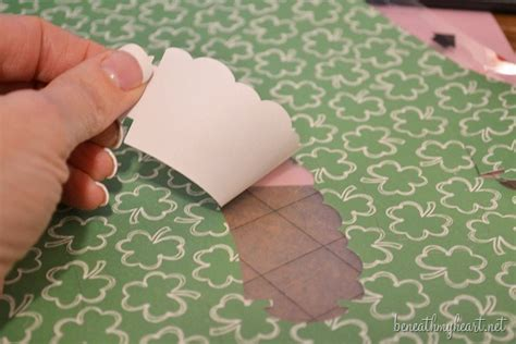 diy cupcake liners amp a silhouette portrait giveaway
