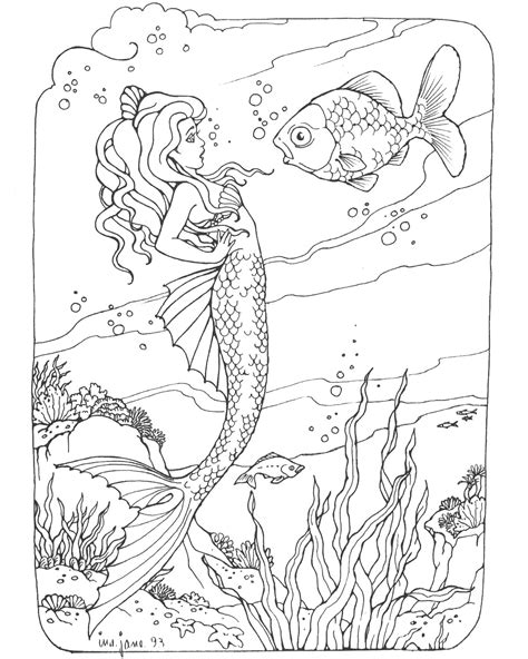 printable coloring pages for adults mermaids barbie mermaid coloring pages coloringsuite com